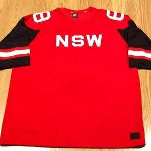 Nike Sportswear NSW Men's Loose Fit Red Jersey